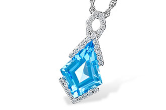 K318-84098: NECK 2.40 BLUE TOPAZ 2.53 TGW