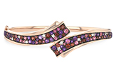 L234-34143: BANGLE 3.12 MULTI-COLOR 3.30 TGW (AMY,GT,PT)