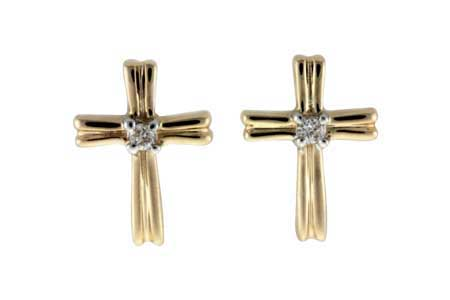 M046-16861: EARRINGS .03 TW