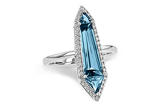M236-10498: LDS RG 2.20 LONDON BLUE TOPAZ 2.41 TGW